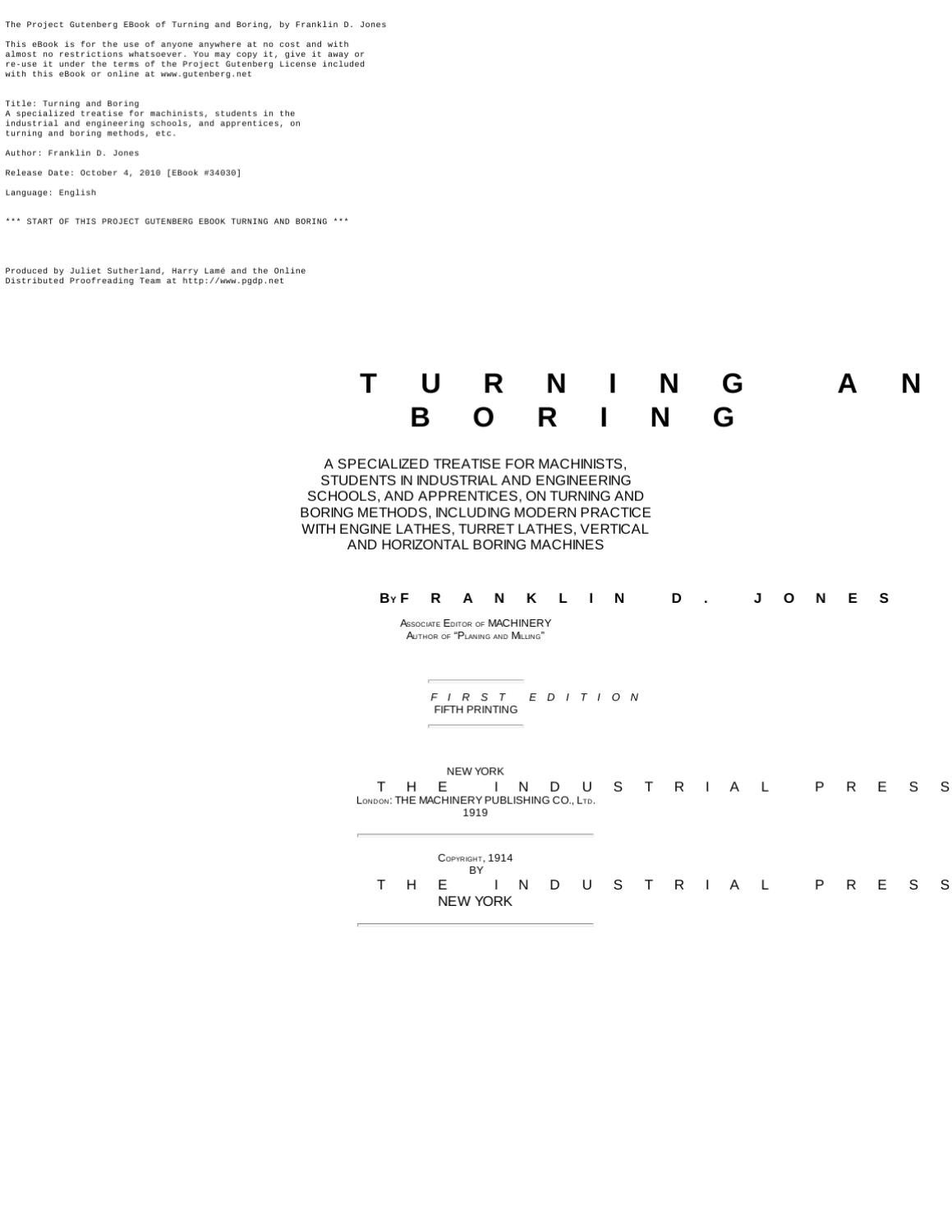 Turning and Boring Manual by Tim Sefton - issuu
