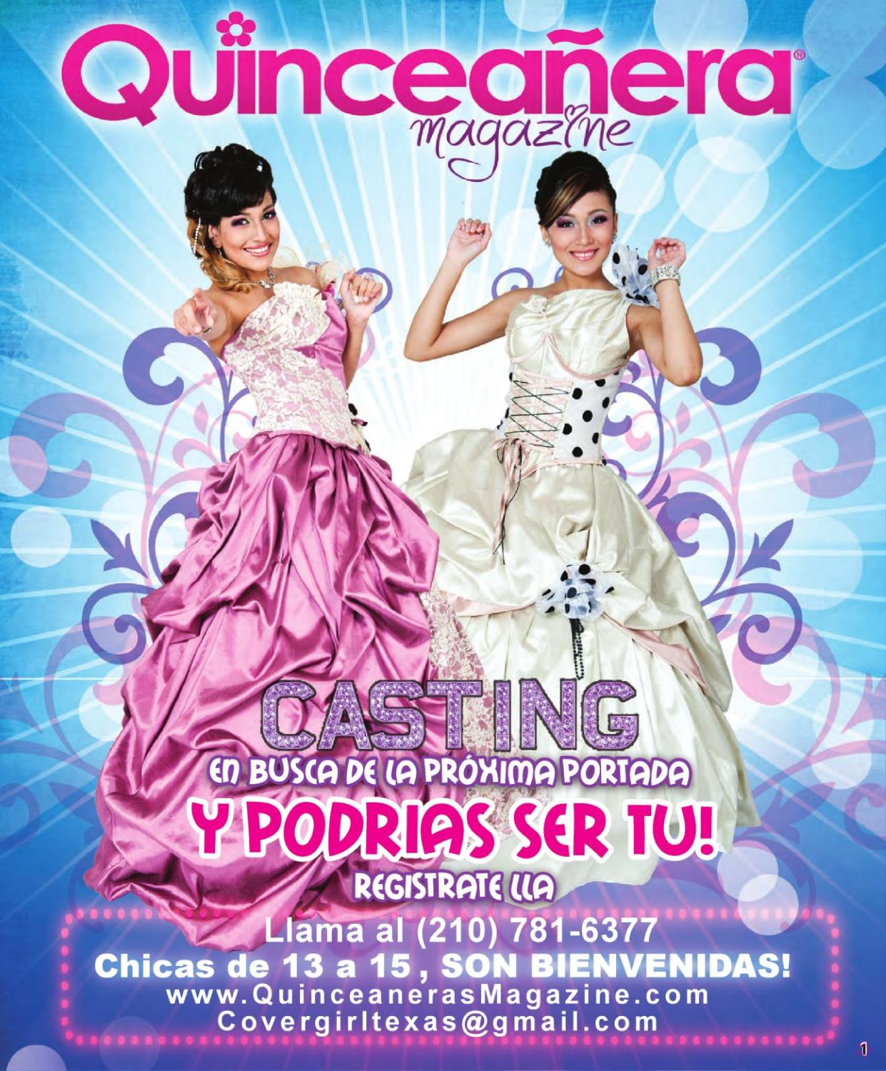 South / Central Quinceanera Magazine 2011 by Texas Quinceaneras ...