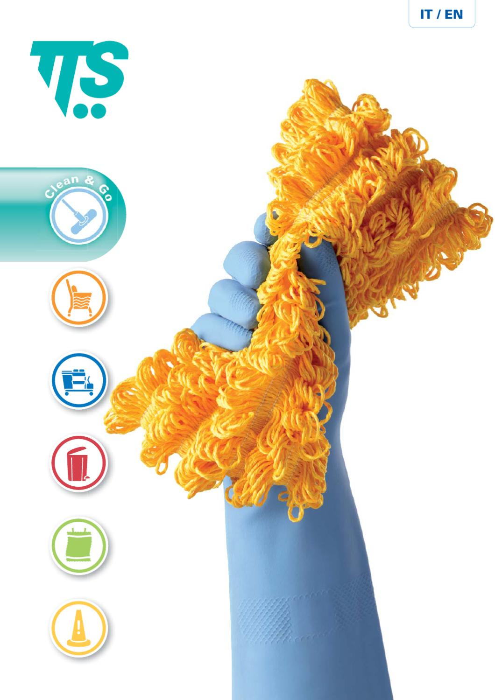 in Poliestere e Acrilico 40 cm TTS Cleaning 00000710 Fibra Abrasivo