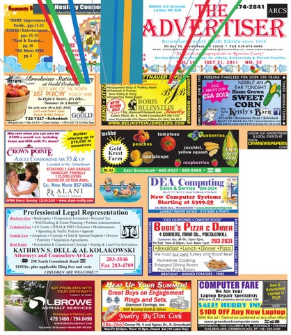 fe084f108a Advertiser South 072111 by Capital Region Weekly Newspapers - issuu