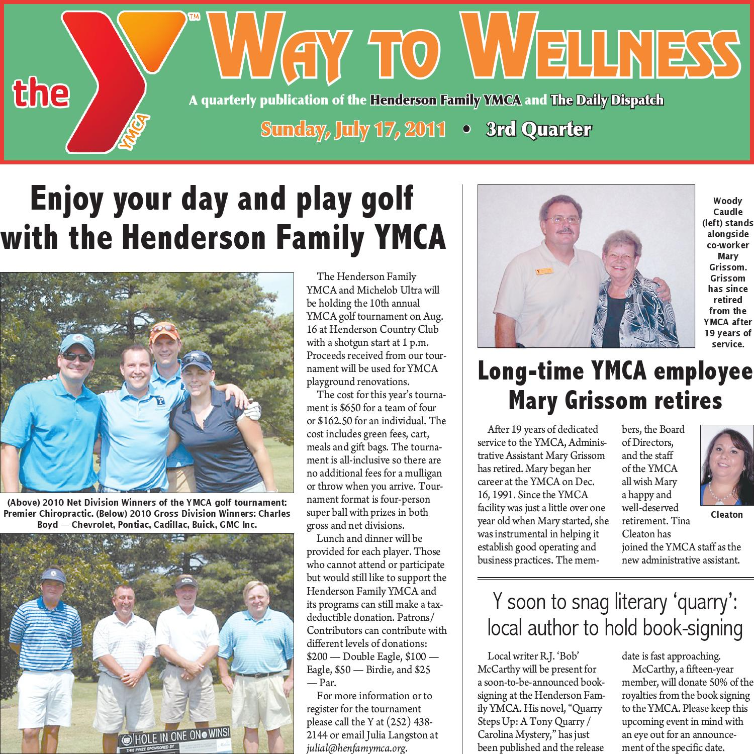 Way To Wellness The Daily Dispatch July 17 2011 By The Daily Dispatch Issuu