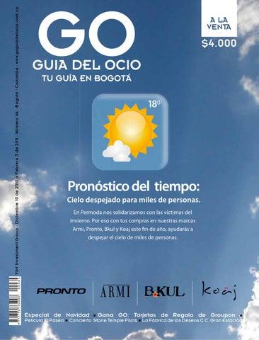V V Investment Group · Diciembre 10 de 2010 a Febrero 3 de 2011 · Número 64  · Bogotá - Colombia · www.goguiadelocio.com.co 041285b20f858