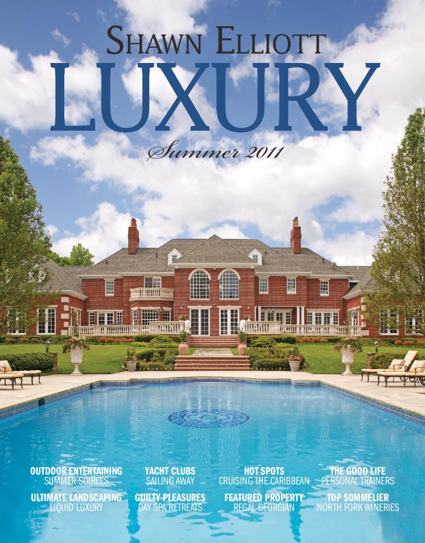 Shawn Elliott Luxury Magazine Summer 2011 By Luxuryre Issuu Prewire Over Fireplace In Saratoga Ca Mw Home Entertainment Wiring