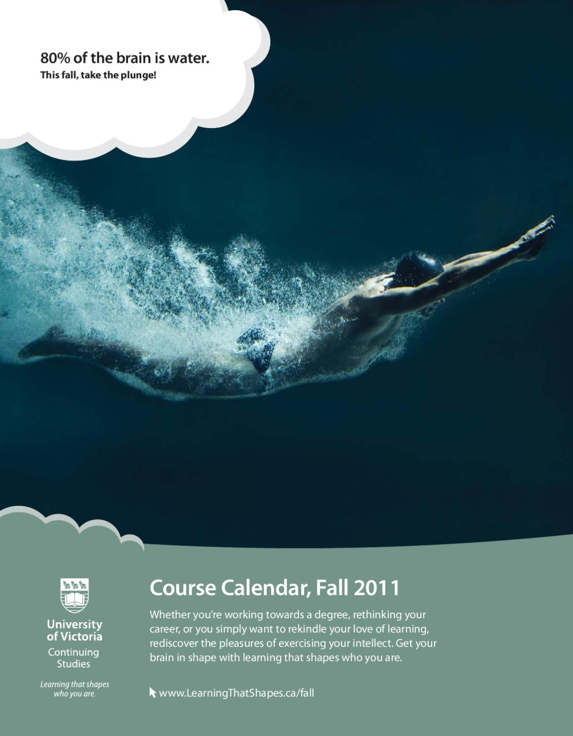 UVic Continuing Studies Course Calendar - Fall 2011 by Continuing ...
