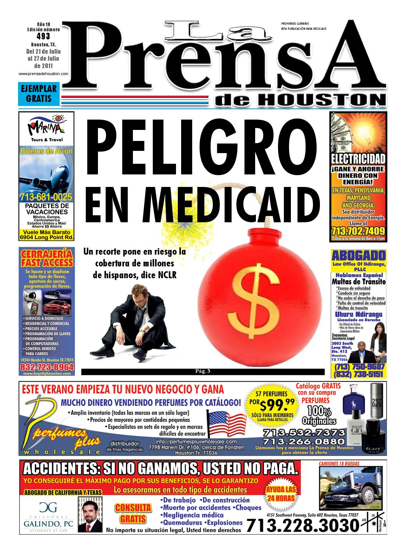 LA PRENSA DE HOUSTON 493 by La Prensa de Houston - issuu