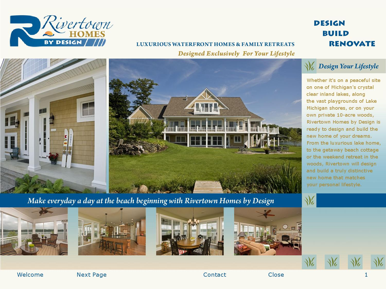 b43cfeb19dbd Rivertown Homes by Design Custom Lake Homes eBrochure by People ...