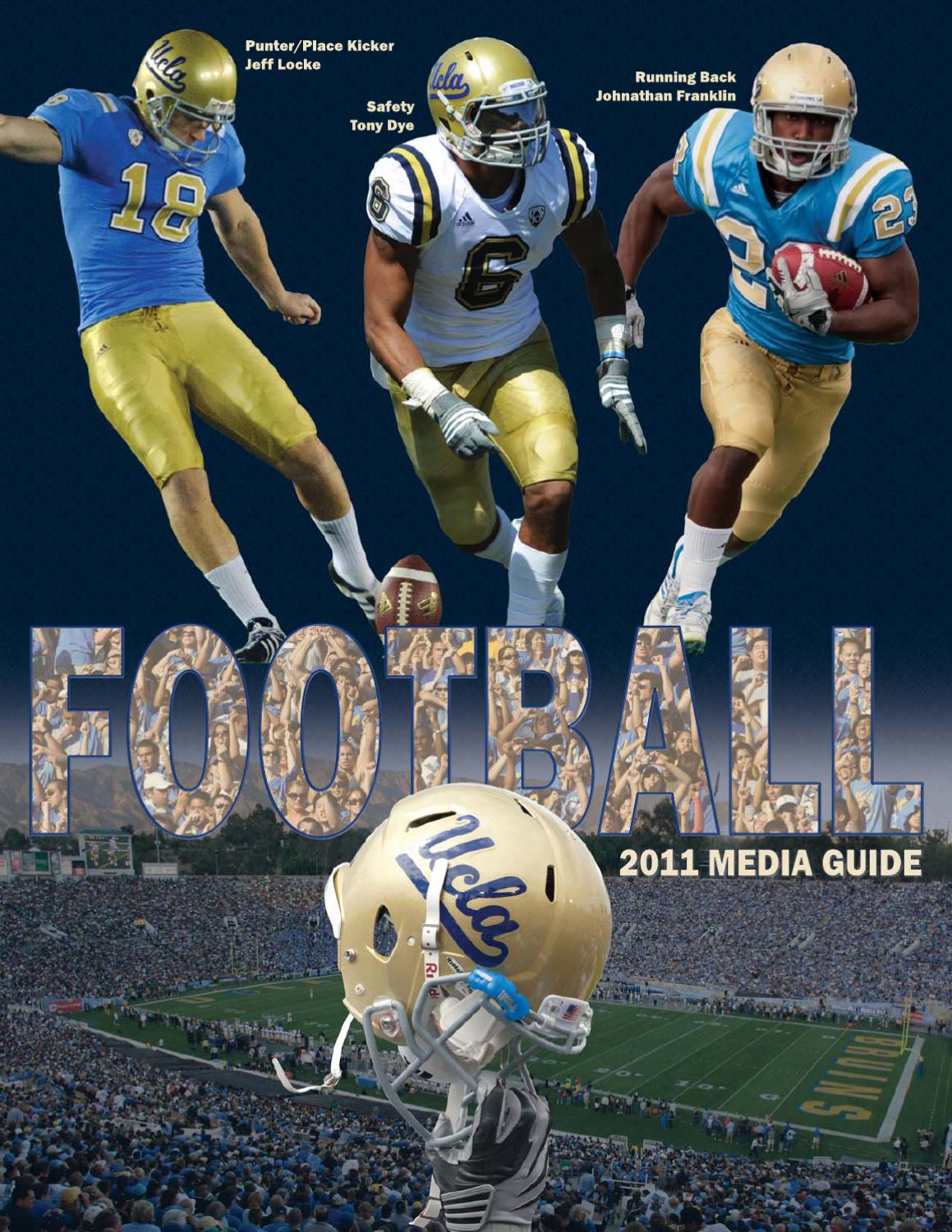 07b4f874a1d 2011 UCLA Football Media Guide by UCLA Athletics - issuu