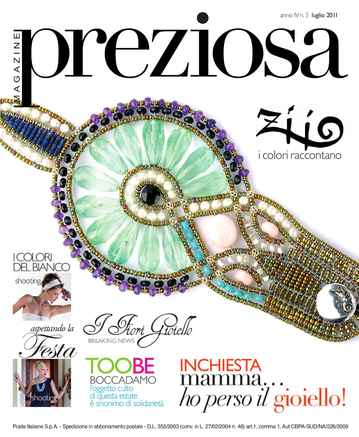 599d43d52f Preziosa Magazine, luglio 2011 by GOLDEN AGENCY - issuu