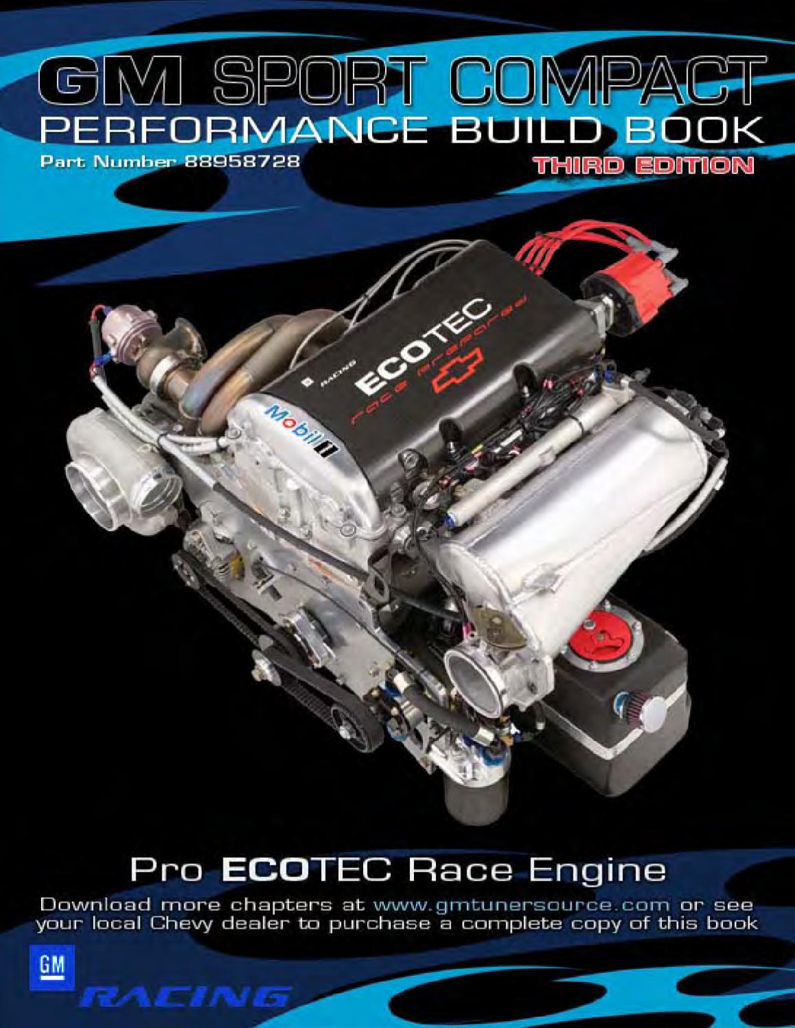 Gm Performance Sports Engine By Christian Bollo Issuu 2003 Saturn Ion Head Gasket