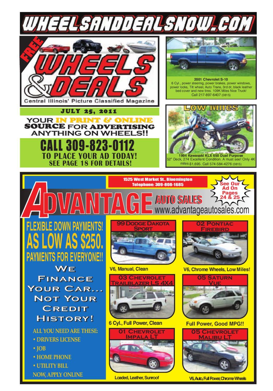 Wheels Deals By And Issuu Wiring Schematic 1994 Kawasaki Klx 650