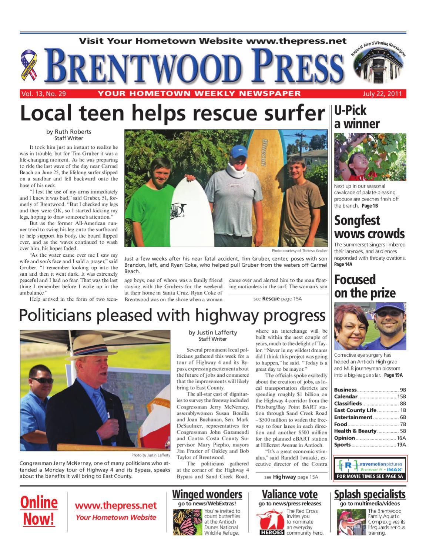 c11e1b77b4c1 Brentwood Press 07.22.11 by Brentwood Press   Publishing - issuu