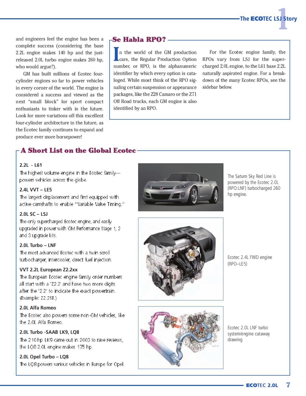 Gm Ecotec 20l 4cyl By Christian Bollo Issuu Engine