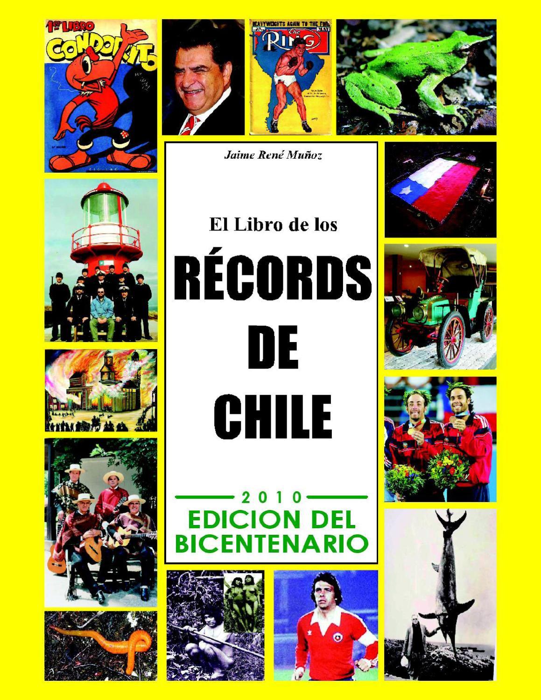 EL LIBRO DE LOS RECORDS DE CHILE by JAIME MUNOZ - issuu 43c51fb3135d