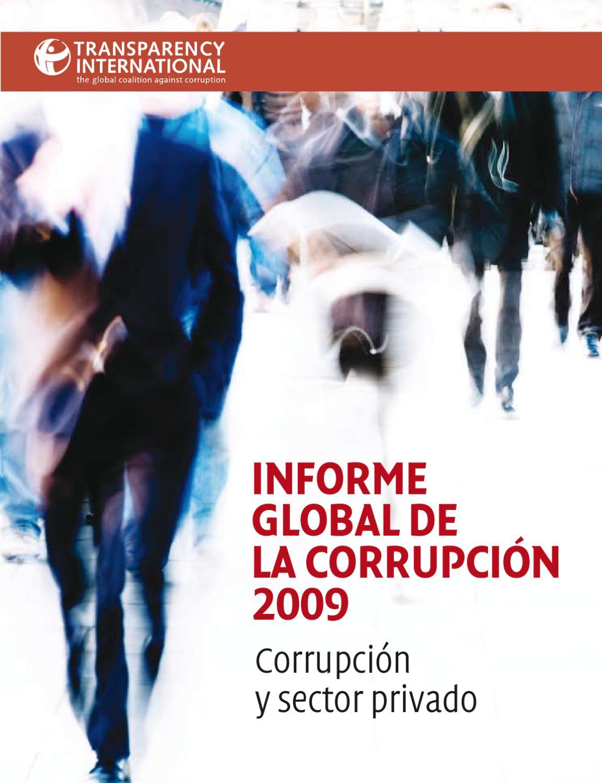 Informe Global de la Corrupción 2009  Corrupcióny sector privado by  Transparency International - issuu 1f7994b7e18a
