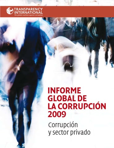 Informe global de la corrupcin 2009 corrupciny sector privado by page 1 malvernweather Gallery