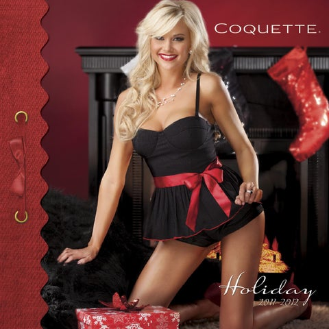 New Coquette 104 Black And Red Lace Leg Garter With Bow
