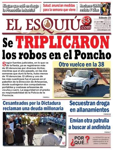 el esquiu 23 de julio de 2011 by Editorial El Esquiú - issuu 3718dc46c2f