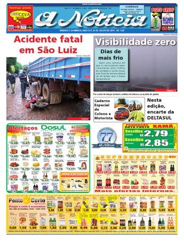 Edição dos dias 23 e 24 de julho de 2011 by Jornal A Notícia - issuu 082bfd7d15