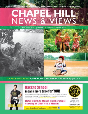 Chapel Hill News   Views - August 11 by Lindsey Robbins - issuu a56ffed8445