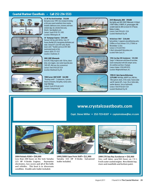 The Coastal Mariner magazine by The Coastal Mariner magazine