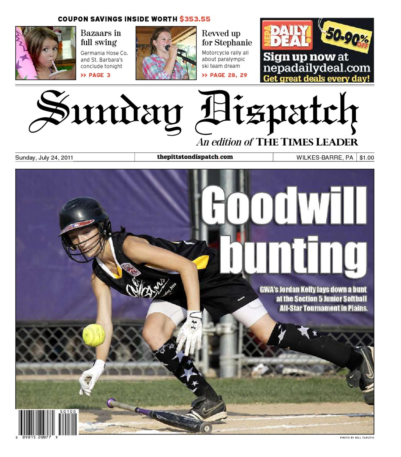 The Pittston Dispatch 07-24-2011 by The Wilkes-Barre Publishing Company -  issuu bbee7623f164