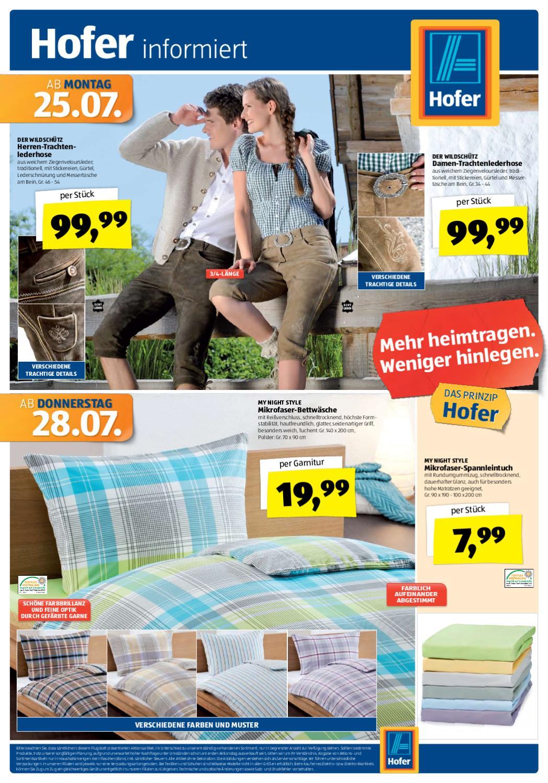 Hofer Prospekt 25.07-03.08.2011 by Aktionsfinder GmbH - Issuu