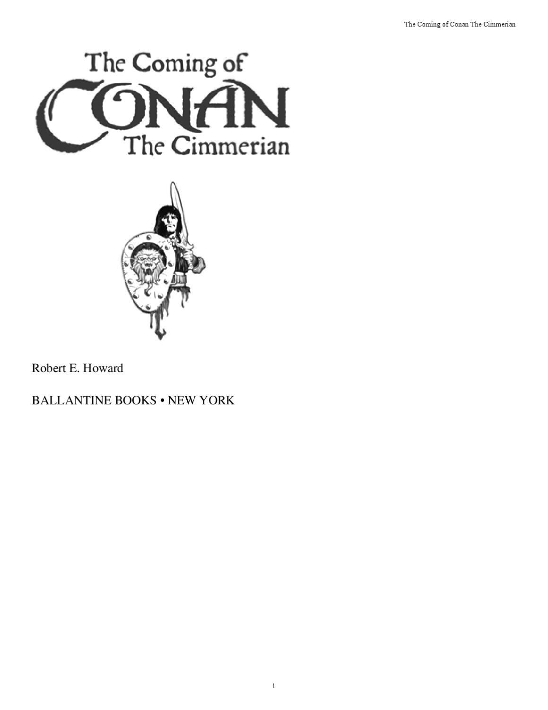 Conan by Tin Vladdy - issuu