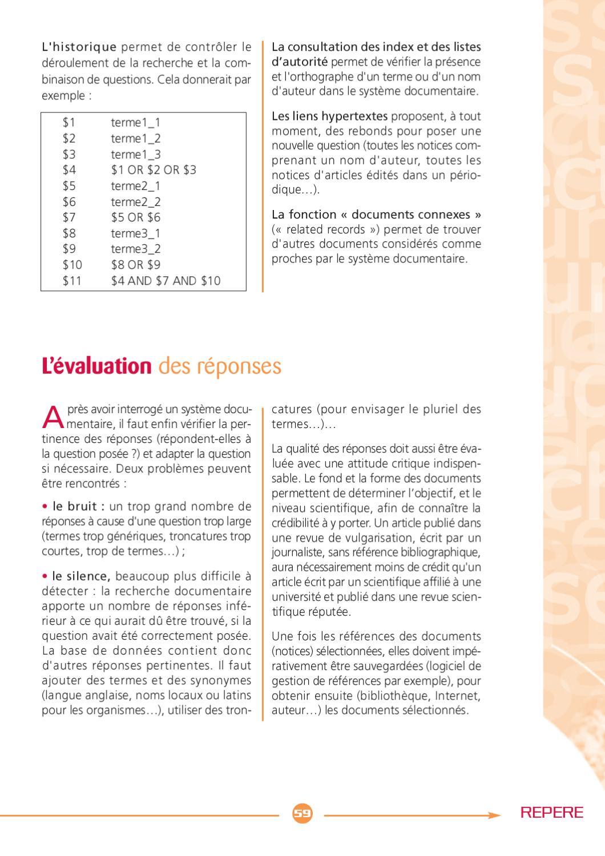 Repere 2011 Rechercher Des Ressources Electroniques By Enssib Issuu