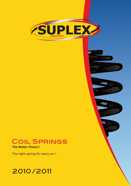 Coil Spring Standard Suplex 03180