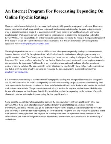 how to become an online psychic