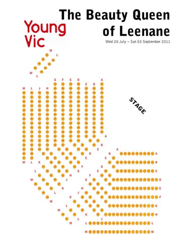 the beauty queen of leenane seating plan by young vic issuu