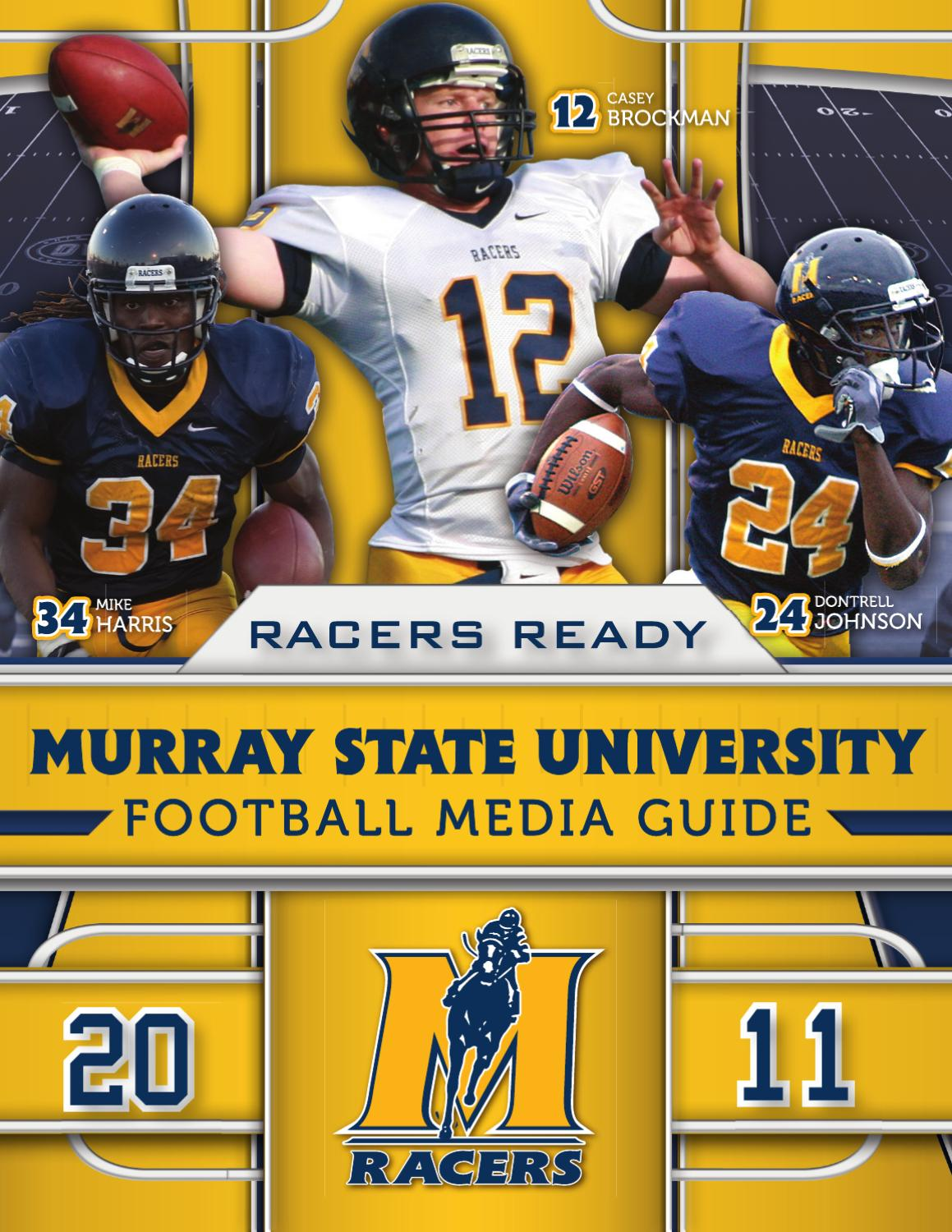 Top 2011 Murray State Football Media Guide by Murray State issuu  free shipping