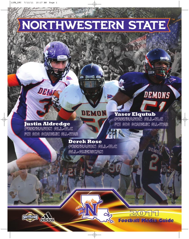 2011 NSU FB Media Guide by Northwestern State Athletics issuu  for cheap