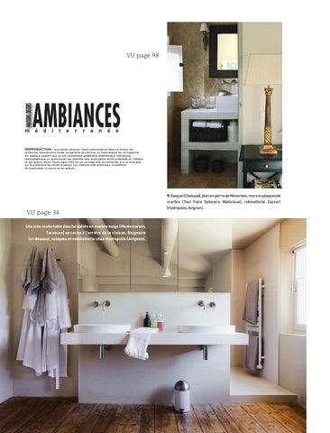 maisons et d cors m diterran e ambiances hors s rie et 2011 by hydropolis issuu. Black Bedroom Furniture Sets. Home Design Ideas