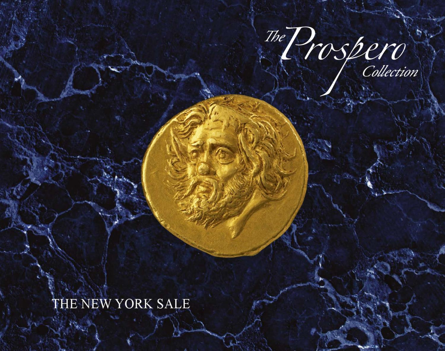 The prospero collection of ancient greek coins by a h for 11 adelphi terrace london wc2n 6bj