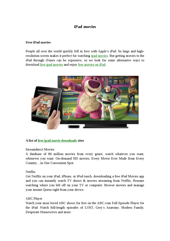 Ipad movies by Alex Lee - issuu