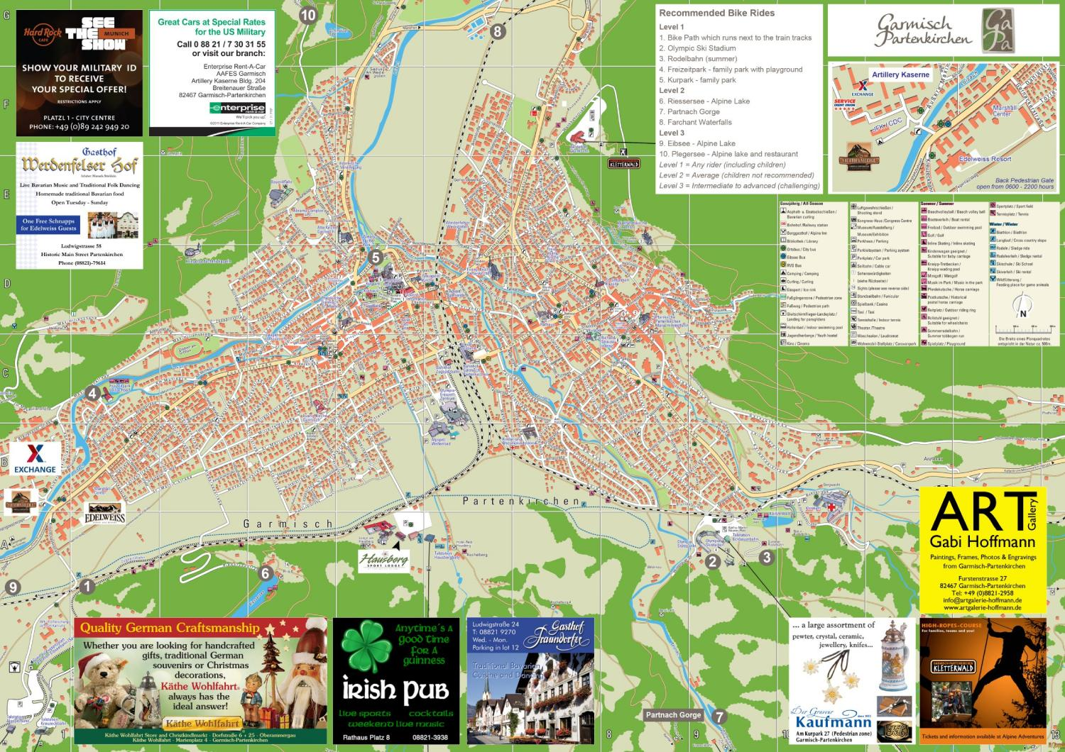 Garmisch Map