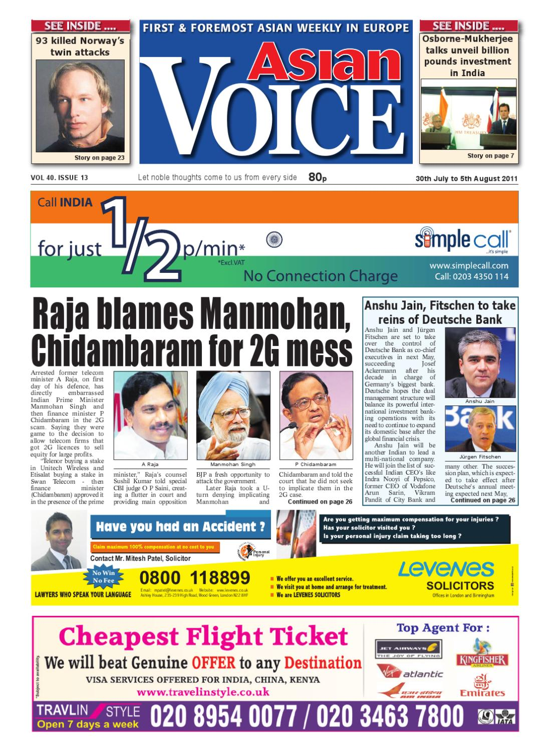 Asian Voice by Asian Business Publications Ltd   issuu