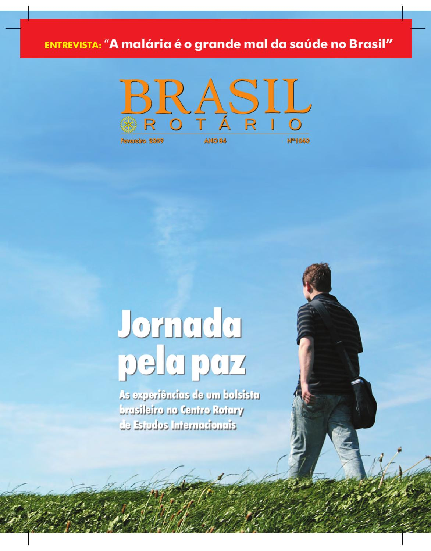 Alyce Perigosa brasil rotário - fevereiro de 2009revista rotary brasil