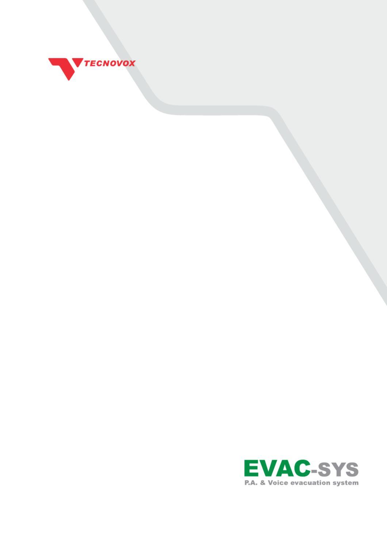 Schema Collegamento Xlr : Evac sys by tecnovox issuu