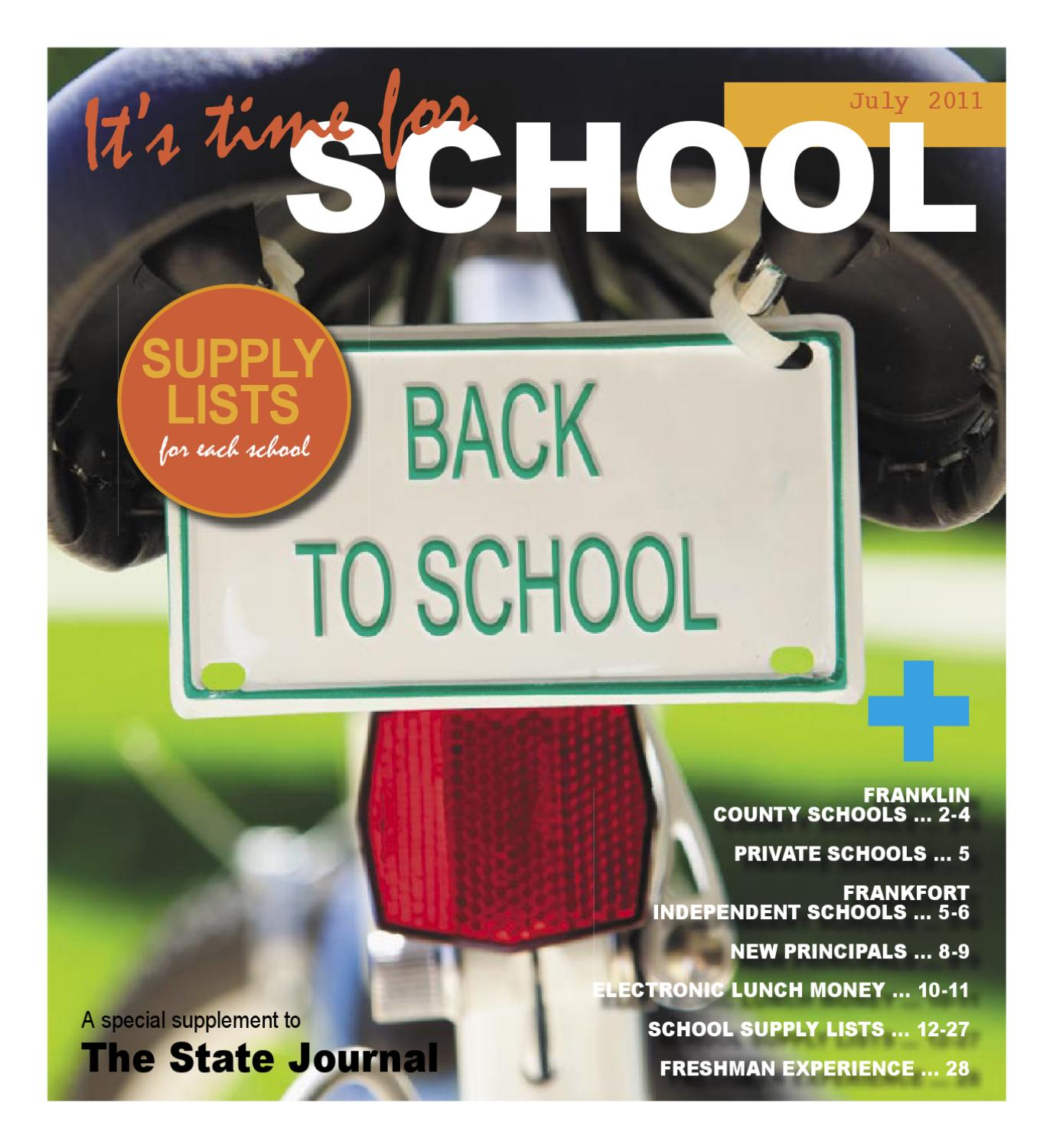 State journal back to school 2011 by gatehouse media neo issuu aiddatafo Image collections