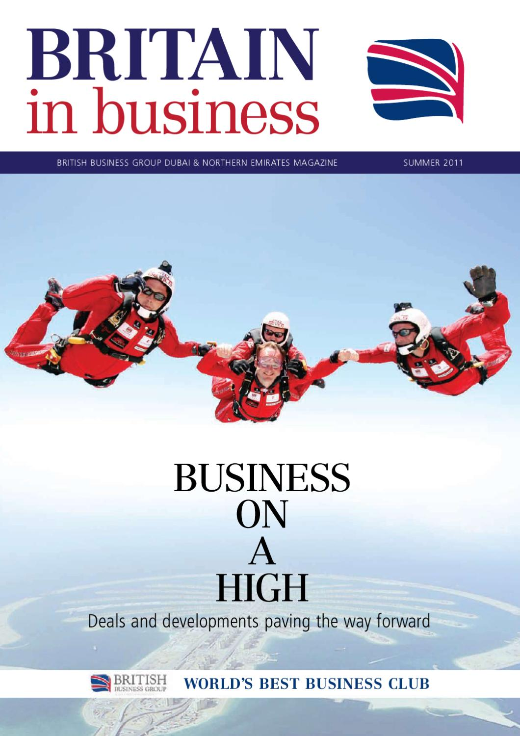 9ef0c9bb964 Britain in Business Summer 2011 by Motivate Publishing - issuu
