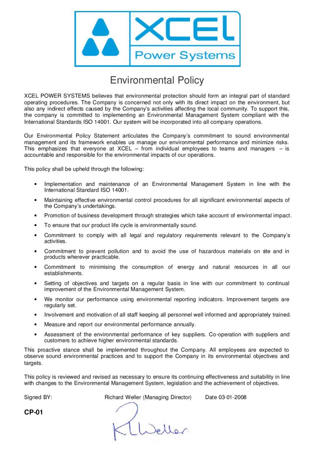 environmental policy reflection 1 Latest environmental news, opinion and analysis from the guardian.