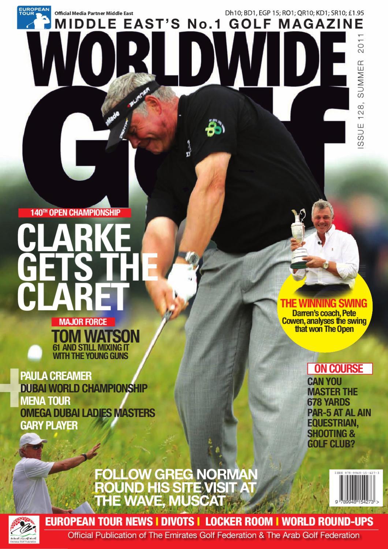 Worldwide Golf Darren Clarke Issue By Wsp Global Issuu Clarette Wedges Coraline Black