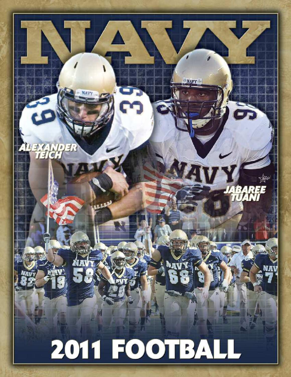 2011 Football Guide by Naval Academy Athletic Association - issuu 47b0adfd5