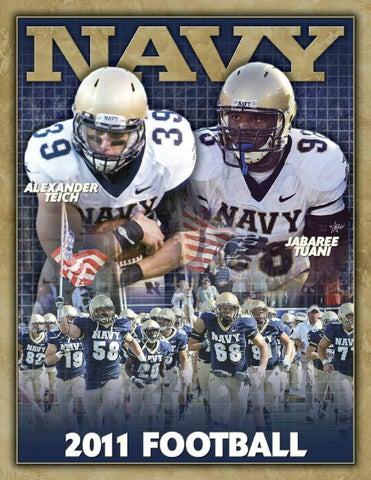 2011 Football Guide by Naval Academy Athletic Association issuu  free shipping