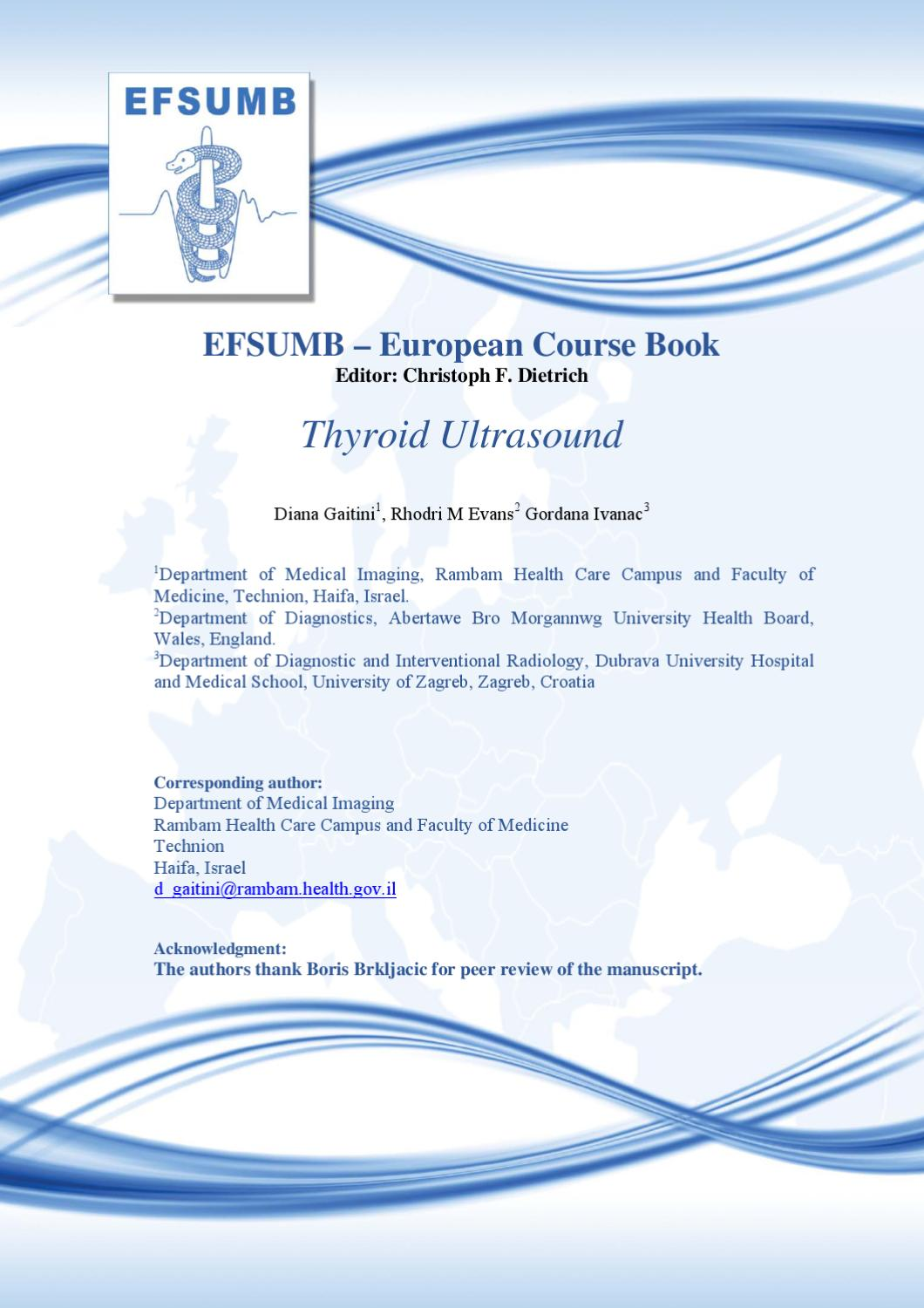 Ecb Ch11 Thyroid By Efsumb Issuu