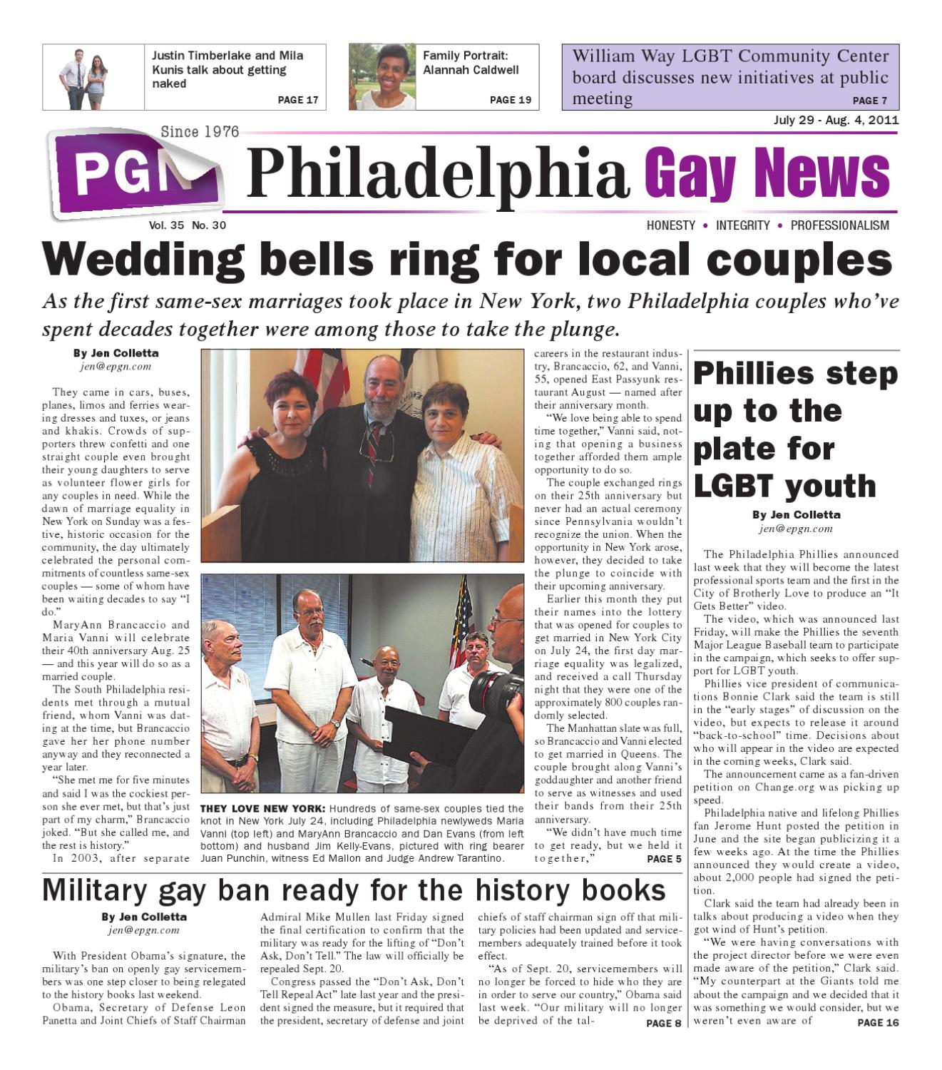 Fabulous Pgn July 29 Aug 4 2011 Edition By The Philadelphia Gay Cjindustries Chair Design For Home Cjindustriesco