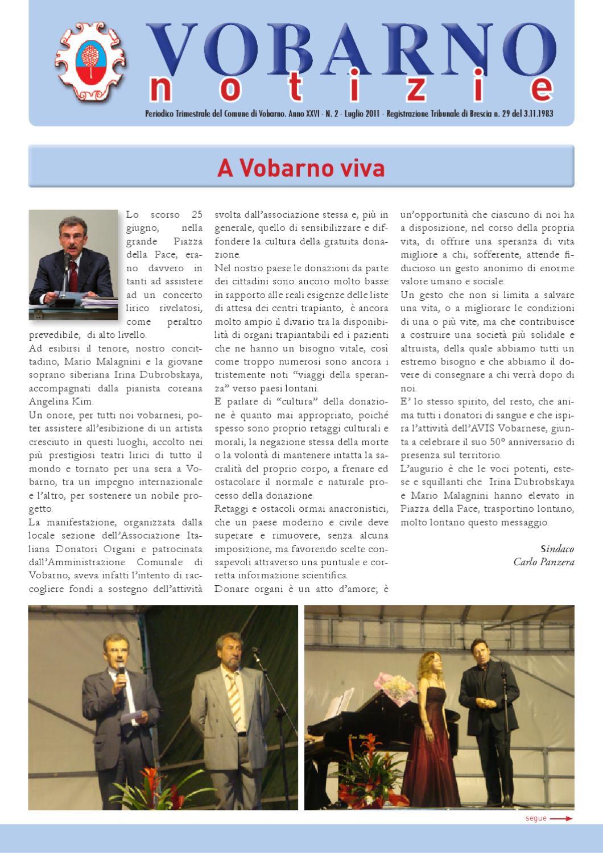 Vobarno Notizie By Comune Di Vobarno Issuu