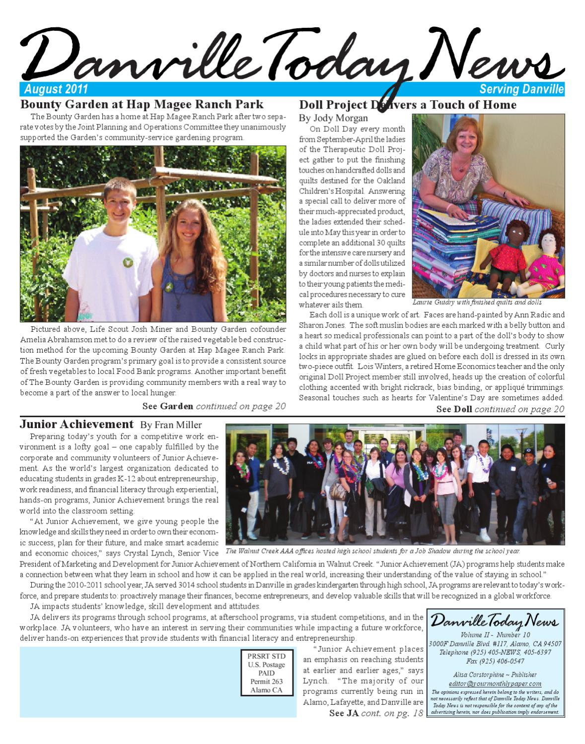 danville today news august 2011 by the editors inc issuu